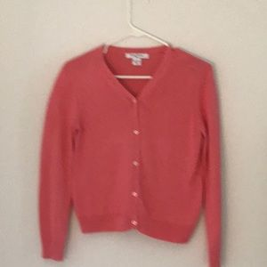 Other - Brooks Brothers Girls sweater peachy/orange Size L